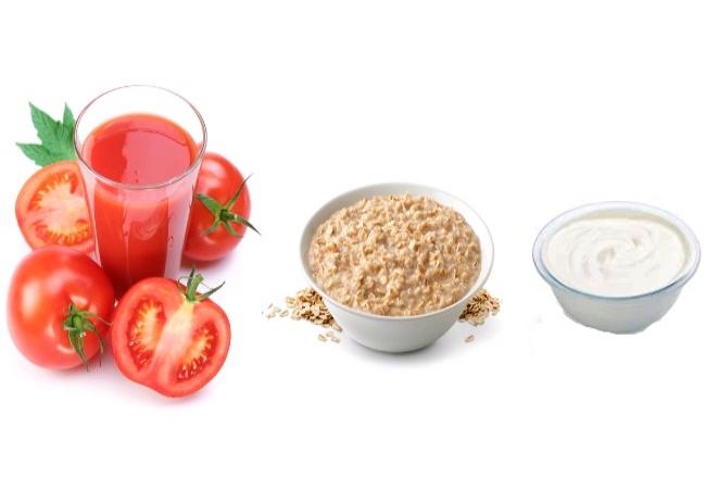 Cà chua bột yến mạch