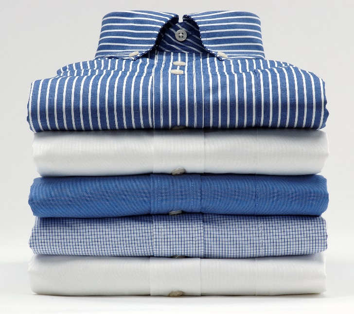 Cách xếp áo sơ mi không bị nhăn