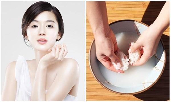 Nước vo gạo có công dụng dưỡng trắng da