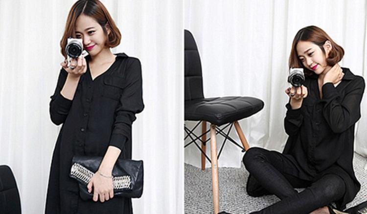 Áo sơ mi đen nên mặc với quần màu gì?