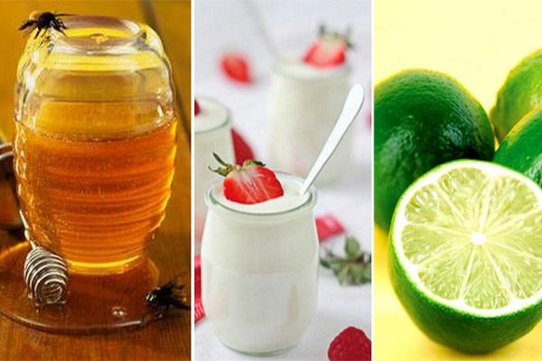 Sữa chua, chanh và mật ong