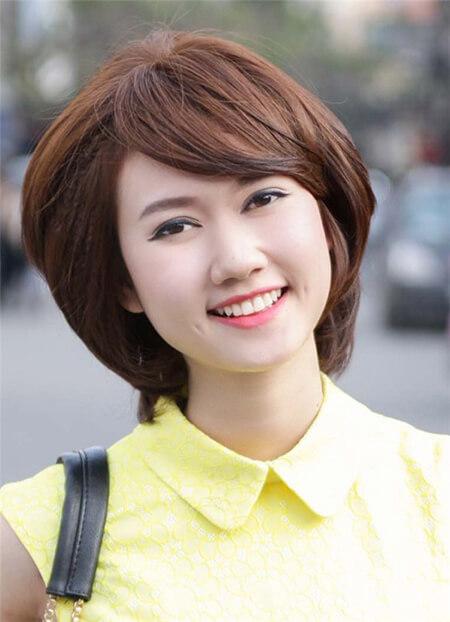 Mái tóc bob cá tính được những cô nàng mũm mĩm vô cùng yêu thích