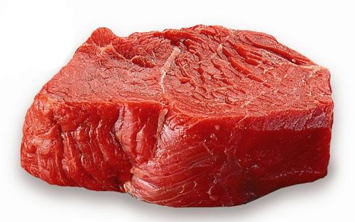 Thịt bò là thực phẩm mà người bị nám nên kiêng