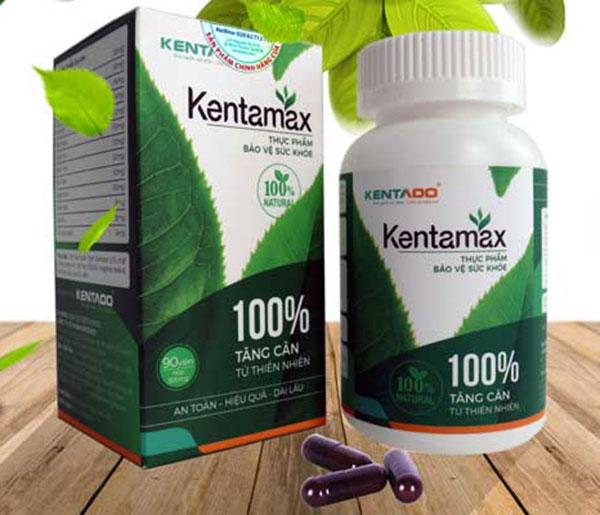 Thành phần của tăng cân Kentamax